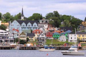 Downtown Lunenburg, Nova Scotia