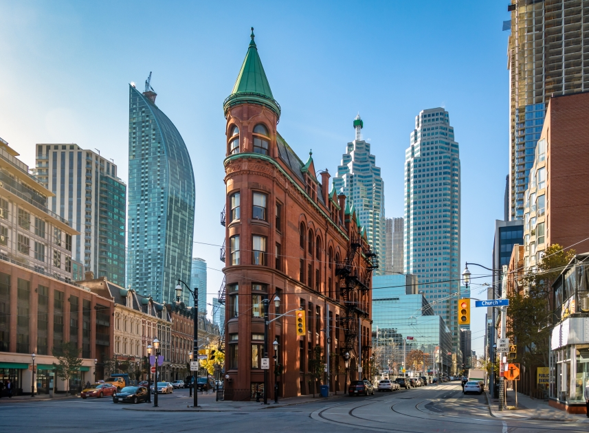 Gooderham Building in downtown Toronto