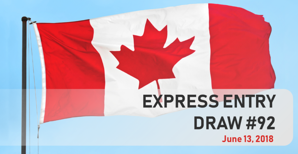 Canada conducts largest express entry draw of 2018 canada canada express entry immigration draw 92 stopboris Images