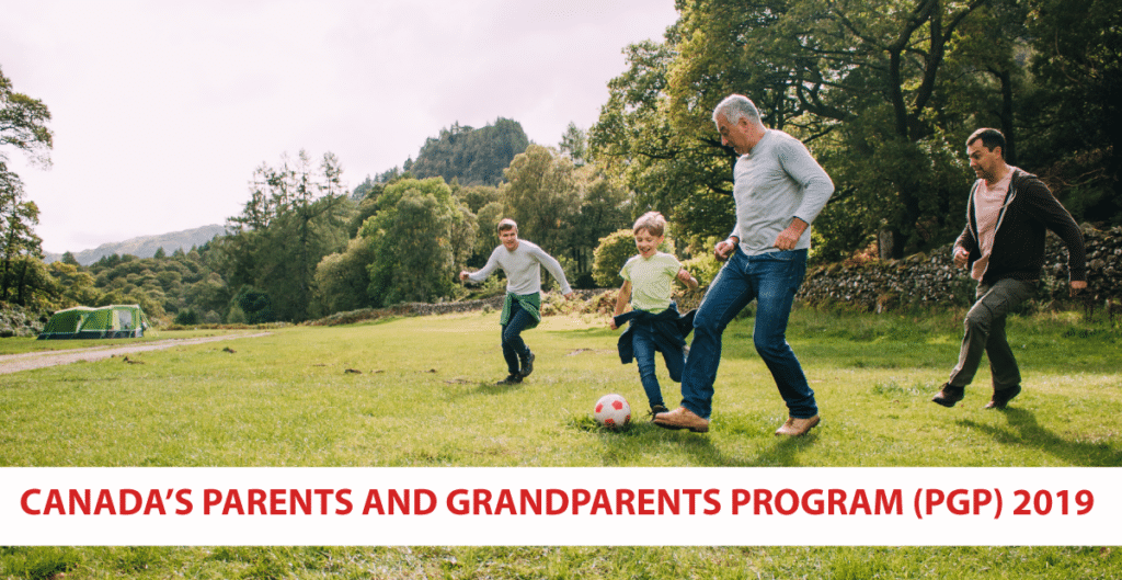 Canada's Parents and Grandparents Program opens briefly to