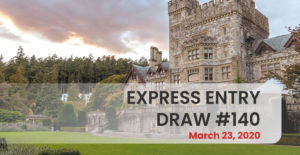 Express Entry Draw #140