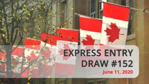 Express Entry draw 152