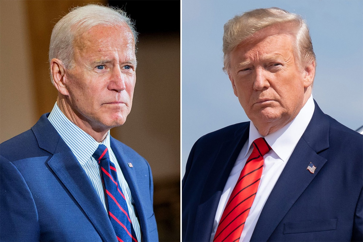 Trump and Biden on immigration