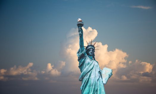 Statue of Liberty in New York City. Canada offers many options for U.S. citizens and residents who want to move to Canada.