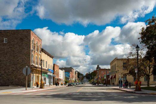 Rural Ontario town