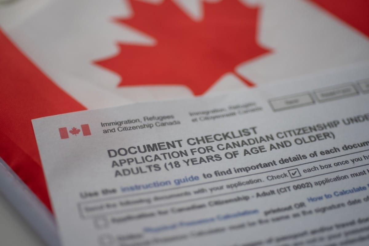 Canada Citizenship application
