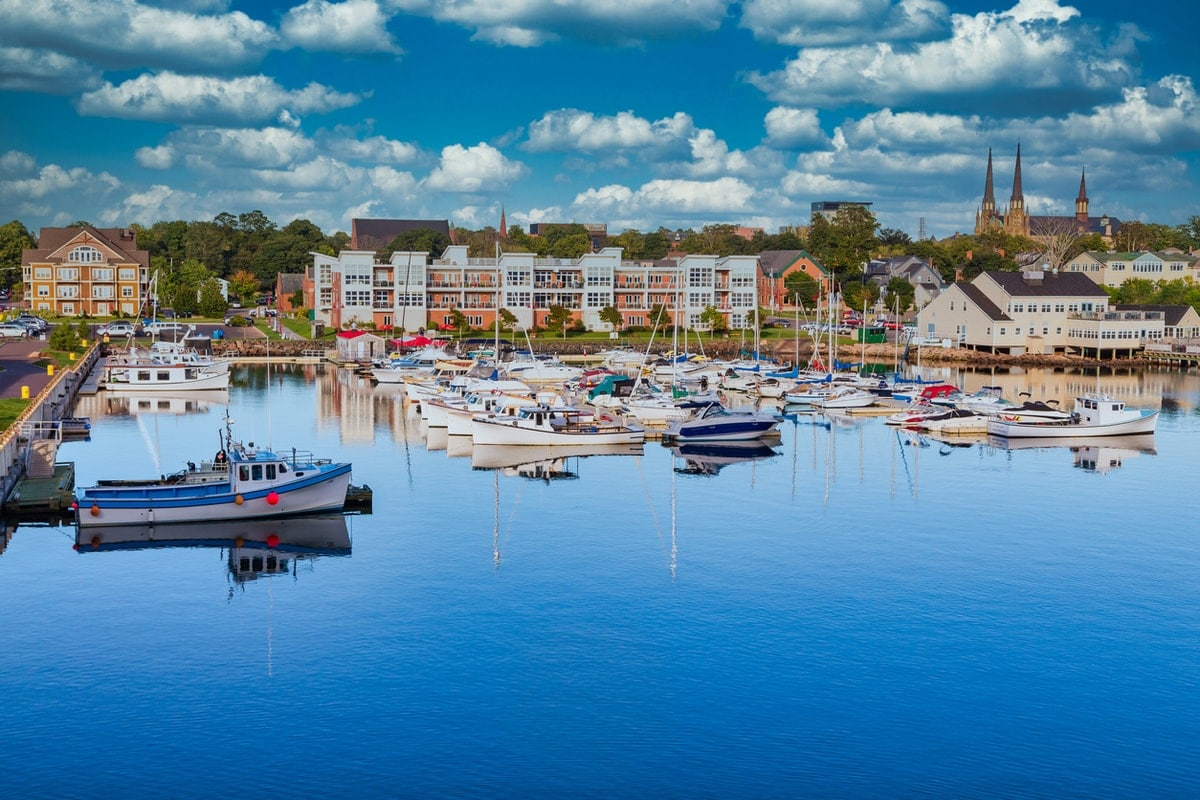 Harbor in PEI